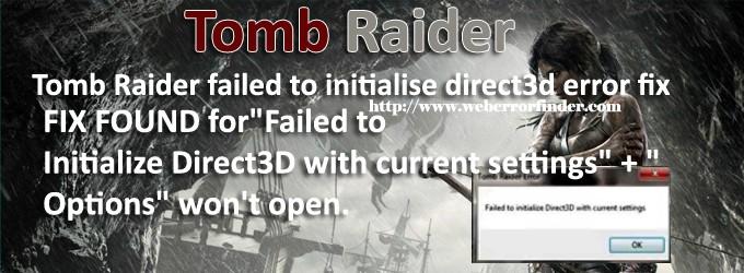direct3d error