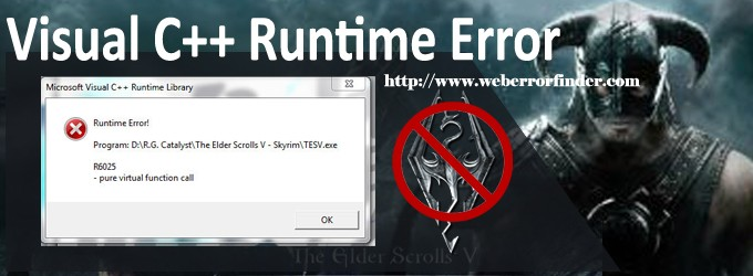 Runtime error C++ in Microsoft Visual