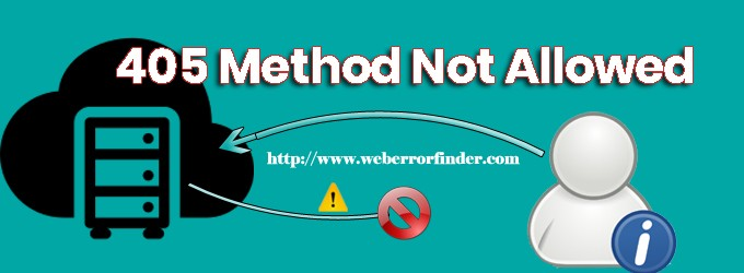 405 method not allowed – How to fix